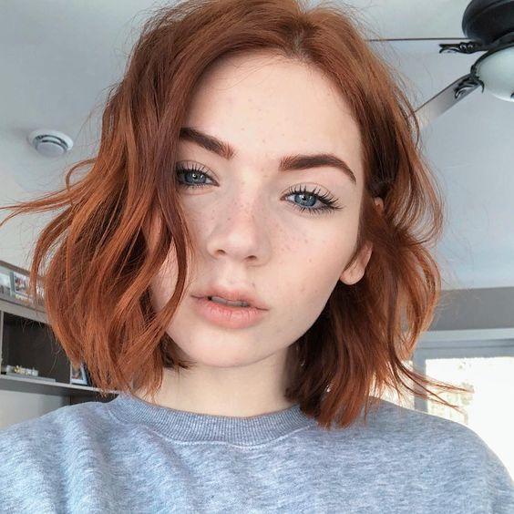 cabelo curto com ondas formatura