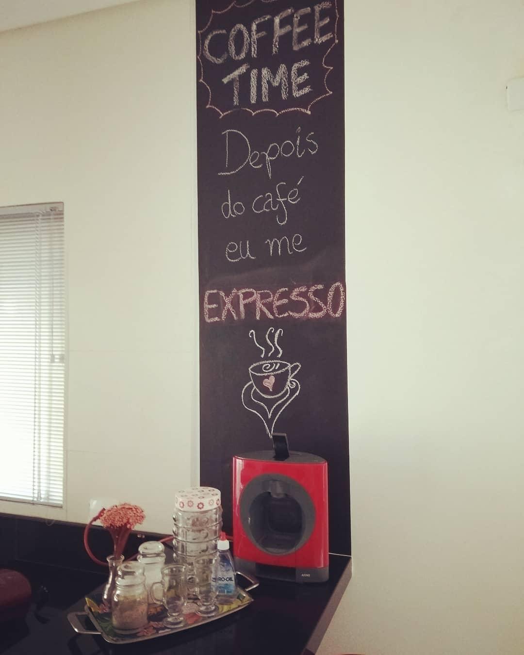 cantinho do café frases na parede