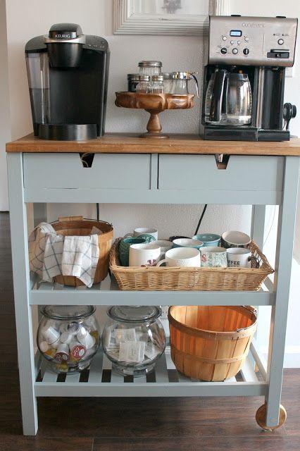 como decorar cantinho do café simples