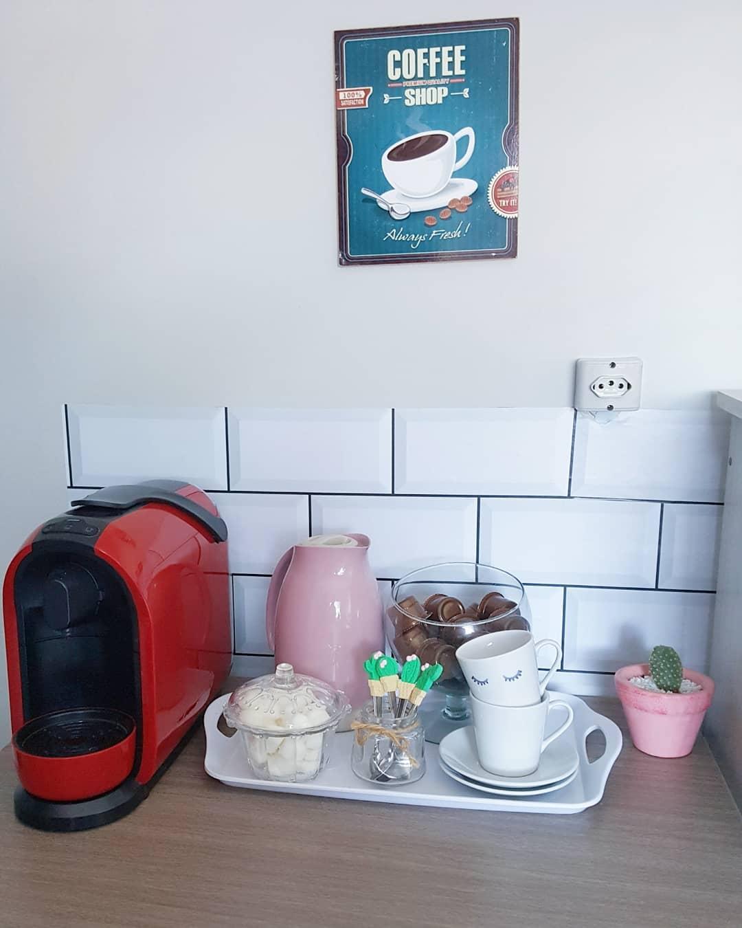 como decorar cantinho do café