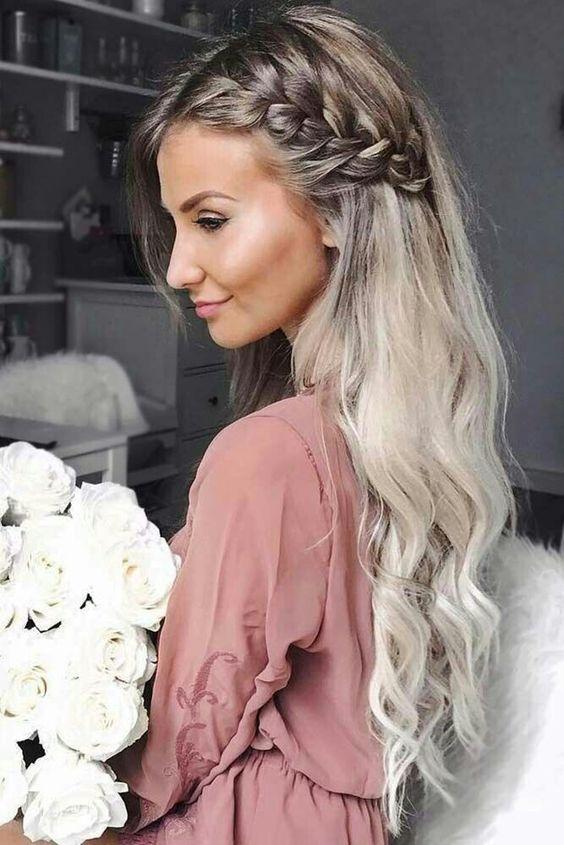 Penteados para festa 2019 cabelos longos