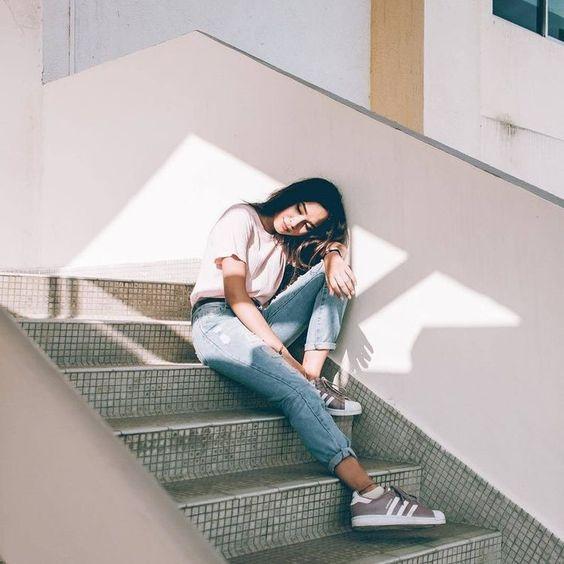foto estilo tumblr Sentados