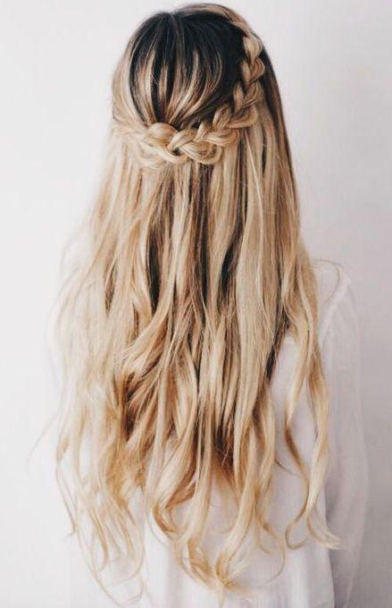 Fotos de Penteados para festa 2019 cabelos longos