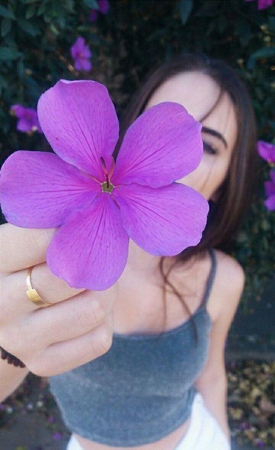fotos tumblr com flores