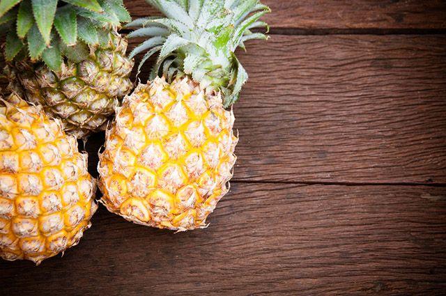 informações nutricionais do abacaxi