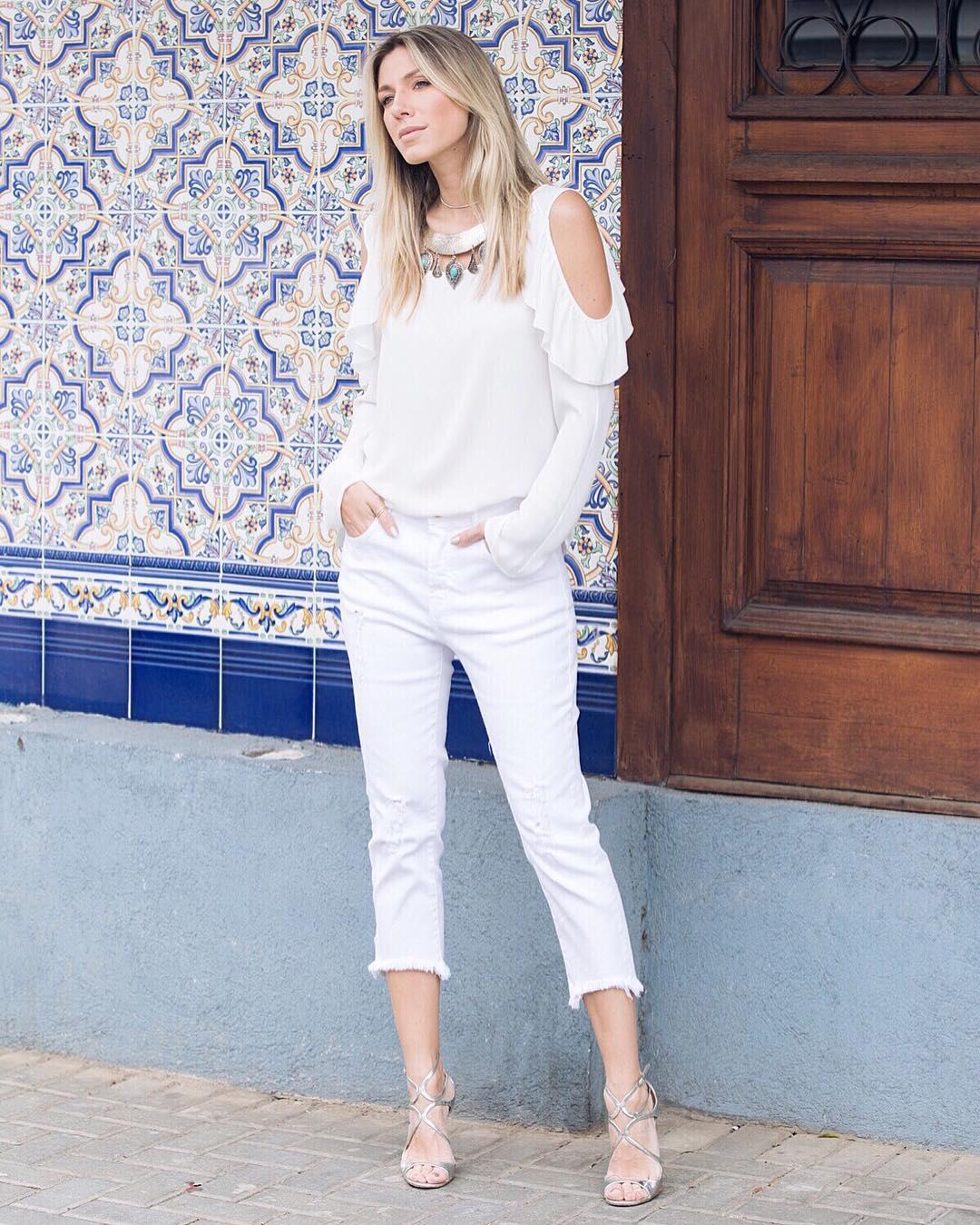 modelo de calça capri feminina