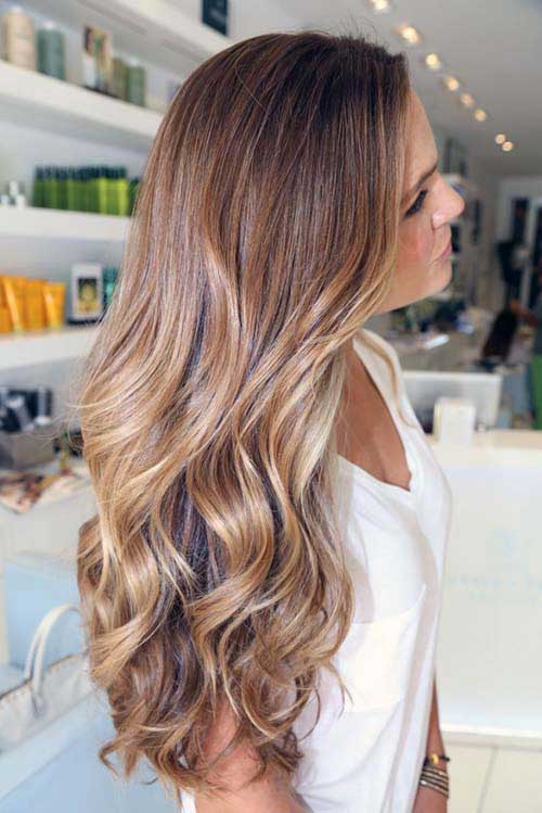 Ombré Hair para cabelo longo