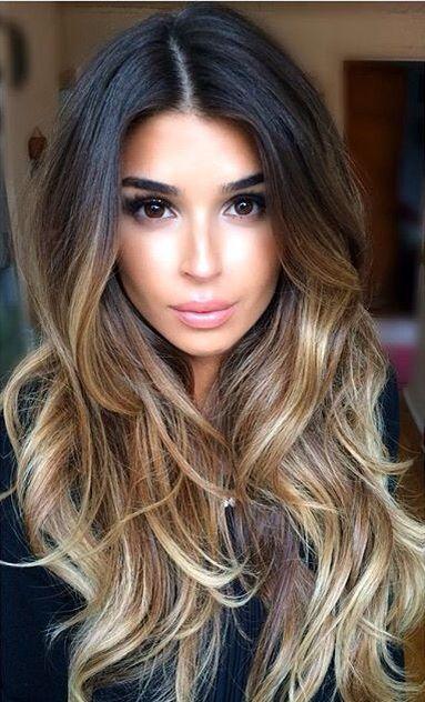 Ombre Hair em morena