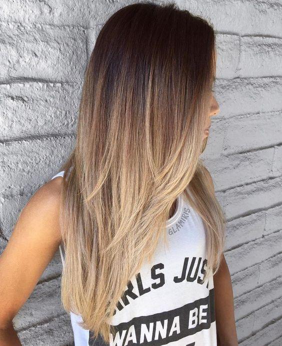 Ombré Hair nos cabelos