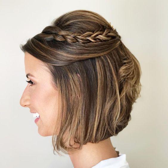 penteados lindos para formaturas