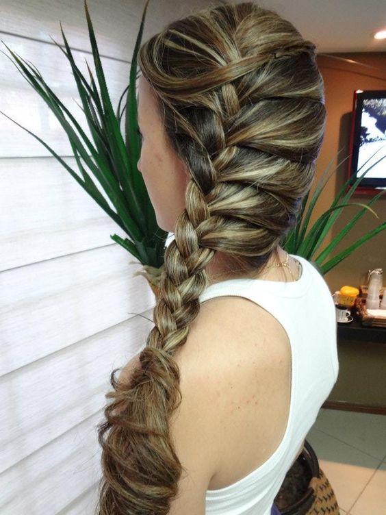 Penteados para Festa 2019 cabelos compridos