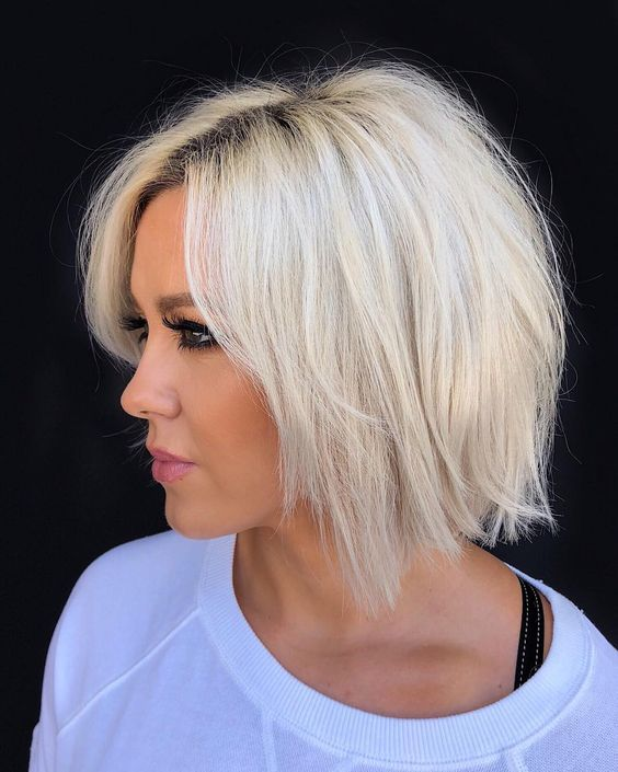 Cabelo curto loiro penteados perfeitos