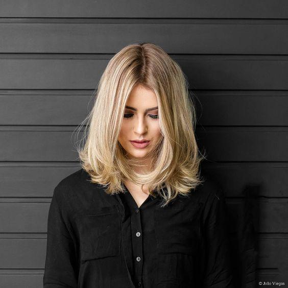 fotos de cabelo curto loiro