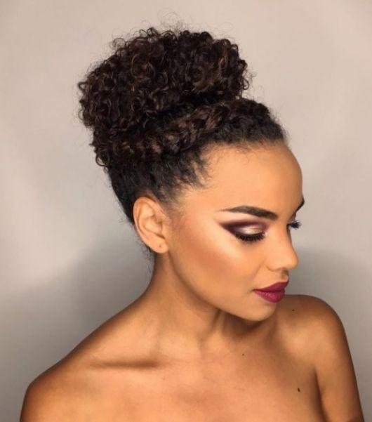 Trança para cabelos curtos afro