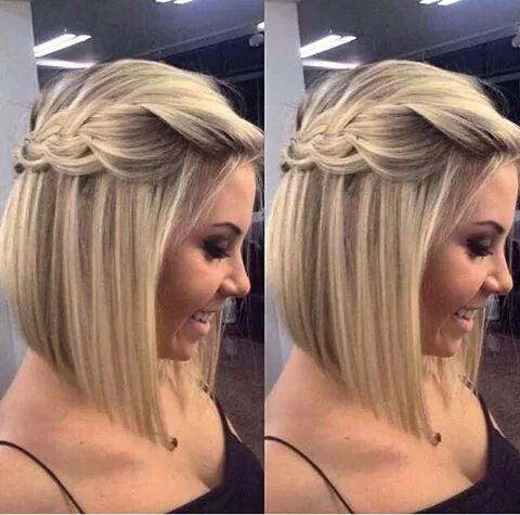 Trança para cabelos curtos maravilhosos