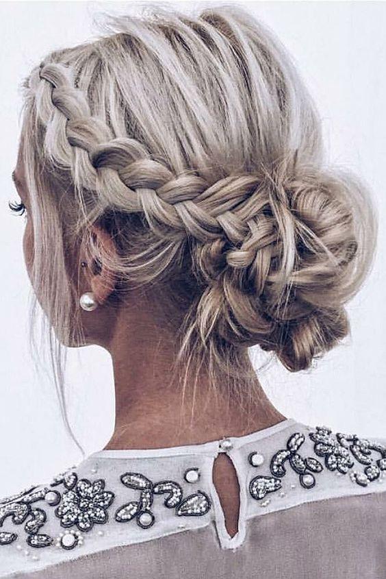 Trança para cabelos curtos tendências