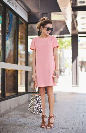 Vestidos de baixinhas rosa