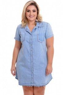 Vestidos Plus size 2020 Jeans