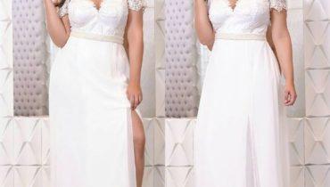 Vestido Plus size 2020 branco