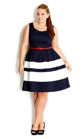 Vestido Plus size 2020 clean