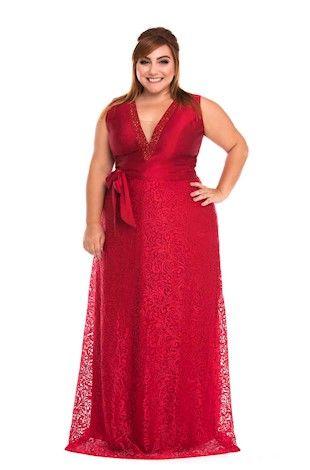 Vestido Plus size 2020 vermelhos