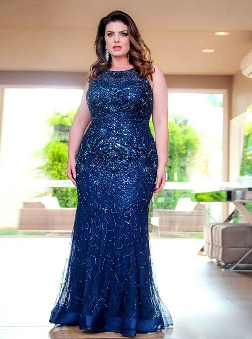 Vestidos Plus size moda 2020