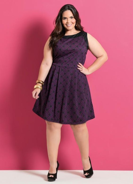 Vestidos plus size 2020 Curtos